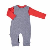 Bebek Aslan Salopet Sweatshirt 2li Takım