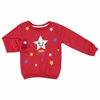 Star Printed Baby Boy Sweatshirt