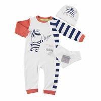 Bebek Zebra Patiksiz Fermuarlı Tulum Önlük Şapka 3lü Takım