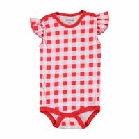 Baby Girl Summer Short Sleeve Bodysuit