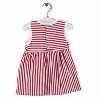 Kız Bebek Elbise Body Kırmızı Çizgili