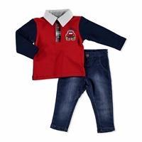 Bebek Araba Sweatshirt-Pantolon