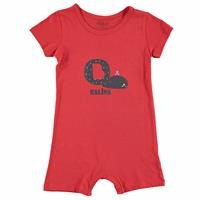 Summer Basic Baby Letters Jumpsuit