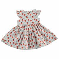 Summer Basic Baby Texture Dress