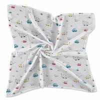 Cars Muslin Multipurpose Baby Blanket