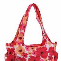 Flower Power Field Bag Red Pink