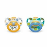 Happy Kids Baby Rubber Pacifier 18 m 2 pcs