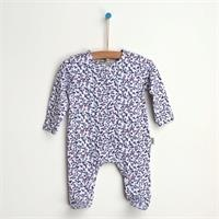 Flower Footed Jumpsuit