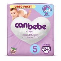 5 Beden Jumbo Paket Junior Bebek Bezi 11-18 kg 24 Adet