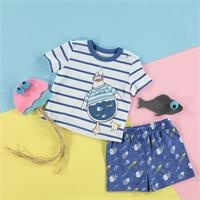 Summer Baby Basic T-shirt Short 2 pcs Set
