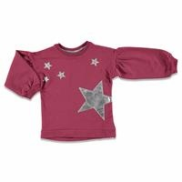 Shiny Star Printed Baby Girl Sweatshirt