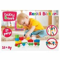 Colored BBaby Locks 27 Pieces