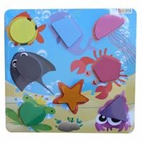 Ocean Animals Geometric Baby Puzzle