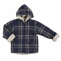 Baby Pocket Detail Hoodie Coat