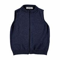 Winter Zippered Baby Knit Vest