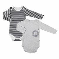 Little Lion Baby Long Sleeve Bodysuits 2 pcs