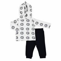 Little Lion Baby Hoodie Cardigan Trousers 2 pcs