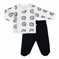 Little Lion Baby Bodysuits Footed Pants 2 pcs