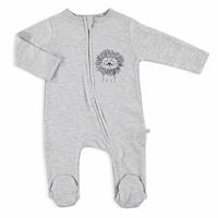 Little Lion Baby Footed Zippered Romper