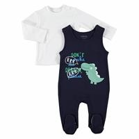 Dino Baby Sweatshirt Jumpsuit 2 pcs Set