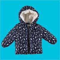 Baby Boy Lightning Water Repellent Coat