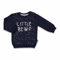 Little Bear Printed Baby Boy Sweatshirt