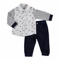Bebek Araba Gömlek-Pantolon