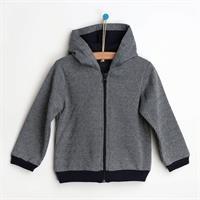 Zippered Hooded Baby Sweatshirt - Single
