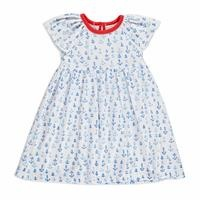 Summer Baby Girl Marine Short Sleeve Dress
