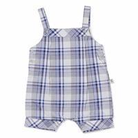 Summer Baby Boy Button Detail Jumpsuit T-shirt Set