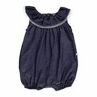 Summer Baby Girl Printed Short Sleeve Romper