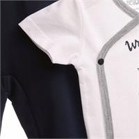 Yaz Erkek Bebek Denizci Zıbın Body-Patikli Alt Takım