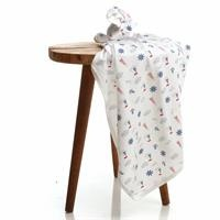 Summer Anchor Patterned Baby Multipurpose Blanket