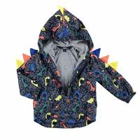 Summer Baby Boy Dino Printed Micro Rain Coat