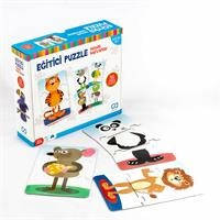 Educational Puzzle - Cheerful Animals 36 pcs 3 Years+