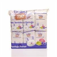 Baby Cleaning Pure Cotton Pads 6x60 pcs