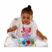 Fun Friend Poli Half Sleeve Baby Apron/Bib