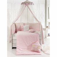 Pink House Sleeping Set 75x130 Cm
