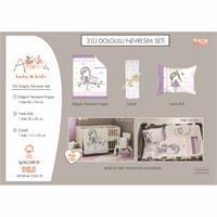 Baby Unicorn Bed Filled Duvet Cover & Pillow Case 2 pcs Set
