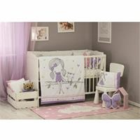 Baby All Girls Bed Filled Duvet Cover 80x100 cm
