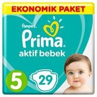 Active Baby Diapers Size 5 Junior Economic Pack 11-16 kg 29 pcs