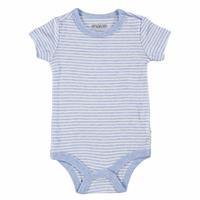 Baby Boy Logo Colored Short Sleeve Bodysuit