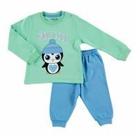 Winter Baby Basic Embroidered Pyjama Set