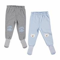 Printed Baby Pants Socks Set