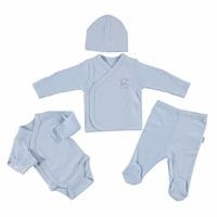 Star Organic Premature Baby Boy Newborn Hospital Pack 4 pcs
