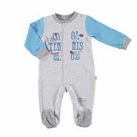 Tennis Club Baby Footed Romper