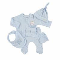 Baby Boy Newborn Hospital Pack 5 pcs