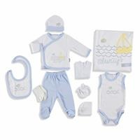Baby Always Newborn Hospital Pack 10 pcs (Newborn Baby Boy Clothes Toddler Infant Set)