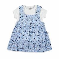Flower Garden Baby Girl Dress Bodysuit Set