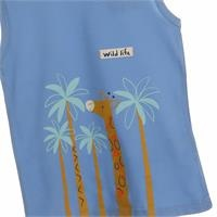 Wild Life Printed Baby Boy Athlete